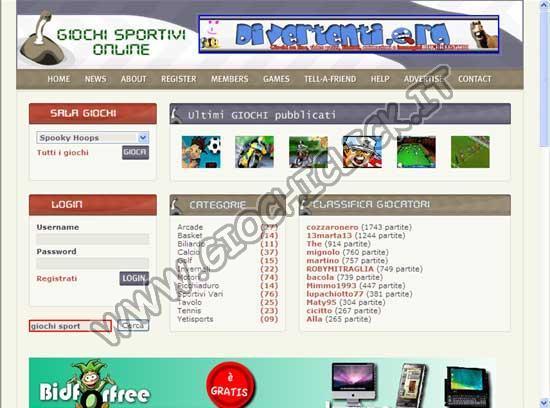 Giochisport.org
