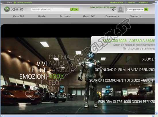 Sito Ufficiale Xbox